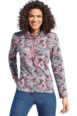 Classic Basics Sweatshirt met speels bloemdessin