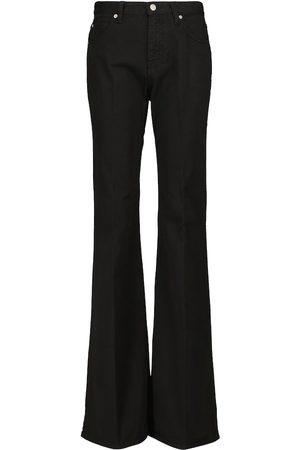 Victoria Victoria Beckham Flared cotton pants
