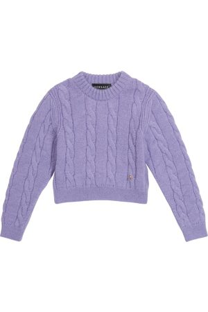 VERSACE Meisjes Sweaters - Wool and mohair-blend sweater