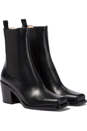 Gianvito Rossi Barr leather ankle boots