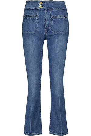 Frame Le Hardy high-rise flared jeans