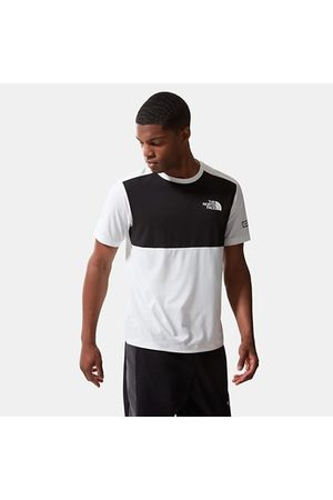 The North Face The North Face Mountain Athletics Hybrid-t-shirt Voor Heren Tnf White / Tnf Black Größe L Heren