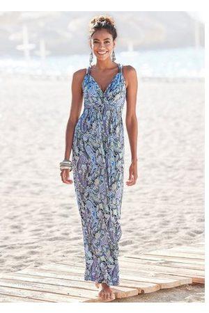Lascana Dames Geprinte jurken - Maxi-jurk met paisleyprint