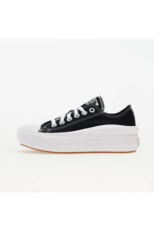 Converse Dames Sneakers - Chuck Taylor All Star Move OX Black/ White/ White