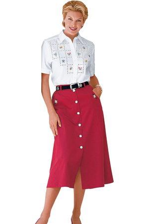 Classic Basics Classic blouse met zijsplitten