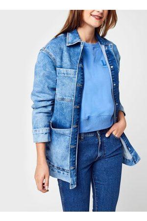 SELECTED Slfcatelin Mid Blu Ls Lon Jeans Jacket U by