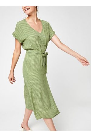 VILA Dames Midi jurken - Vironda Capsleeve Midi Dress by