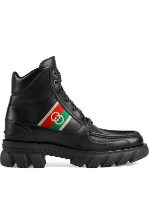 Gucci Men's ankle boot with Interlocking G