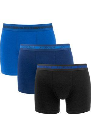 JBS Boxershorts bamboe 3-pack blauw && zwart
