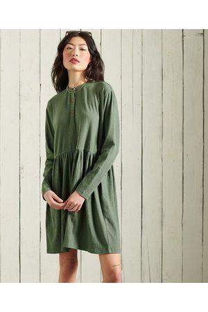 Superdry Dames Jerseyjurken - Jersey mini-jurk