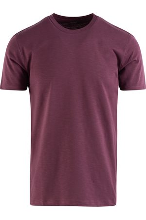 SOC13TY Heren Shirts - SOCI3TY T-shirt Heren Bordeaux Cotton