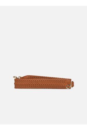 Street Level Latticed brown belt by
