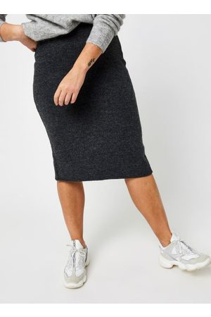 VILA Vijeamine Knit Midi Skirt by