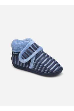 Isotoner Jongens Pantoffels - Botillon Velcro by