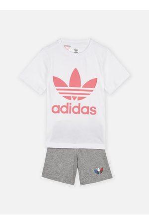 adidas Heren Shorts - Short Tee Set B I by