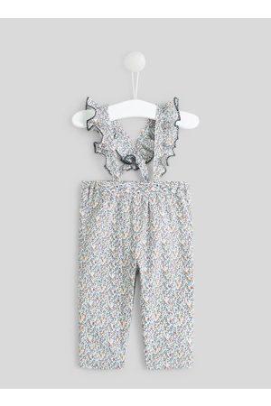 Bout'Chou Pantalon imprimé à bretelles by