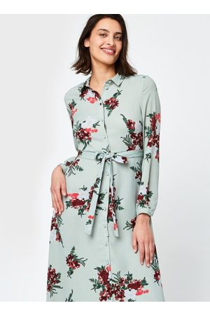 VERO MODA Vmnewallie L/S Maxi Dress Exp Ga by