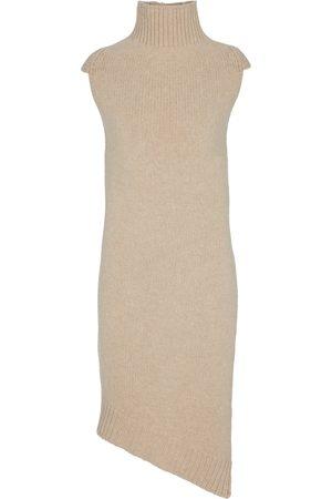 Jil Sander Turtleneck wool dress