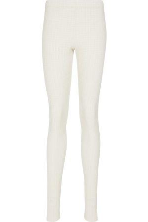 Jil Sander Stretch-jersey leggings