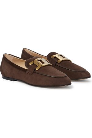 Tod's Catena suede loafers