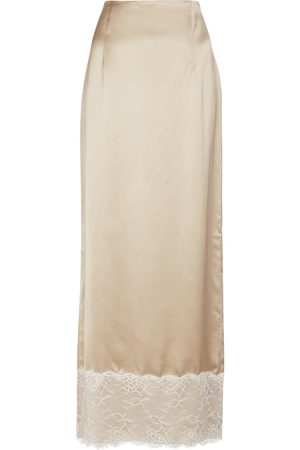 BROCK COLLECTION Lace-trimmed maxi skirt