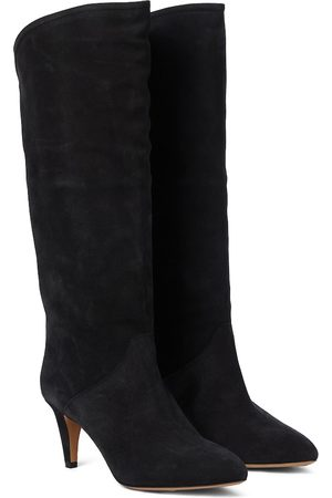 Isabel Marant Laylis suede knee-high boots