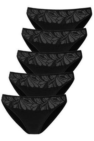 Vivance Bikinibroekje met gebloemde kant voor (5 stuks)