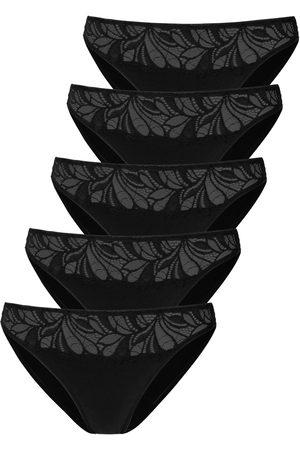 vivance collection Bikinibroekje met gebloemde kant voor (5 stuks)