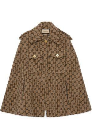 Gucci Dames Poncho's & Capes - GG wool cape