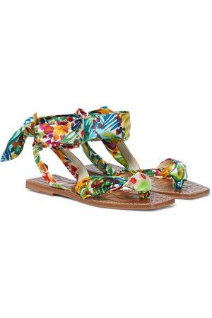 Christian Louboutin Niloofar printed sandals