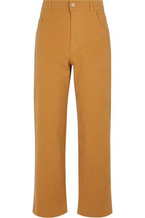 Loro Piana Lan high-rise straight pants