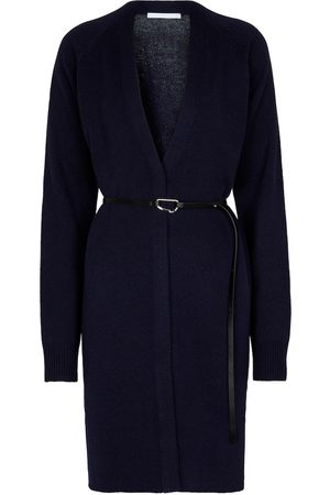 Helmut Lang Belted wool and cashmere cardigan
