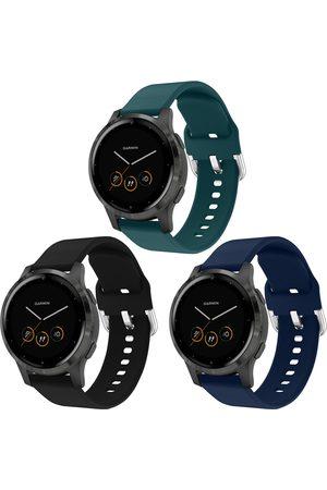 iMoshion Dames Horloges - Siliconen bandje Multipack voor de Garmin Vivoactive 4L - / Groen / Blauw