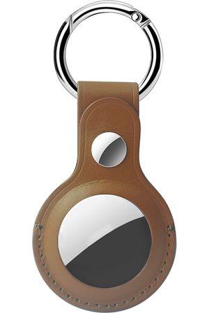 Accezz Dames Genuine Leather Keychain Case voor de Apple AirTag
