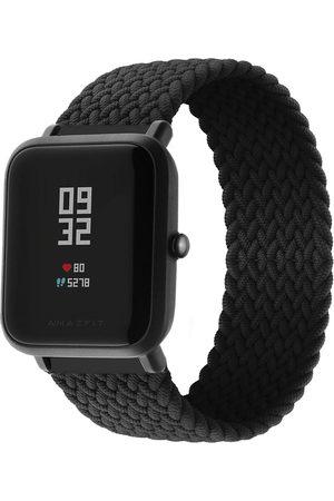 Imoshion Dames Horloges - Gevlochten nylon bandje voor de Amazfit GTS / BIP
