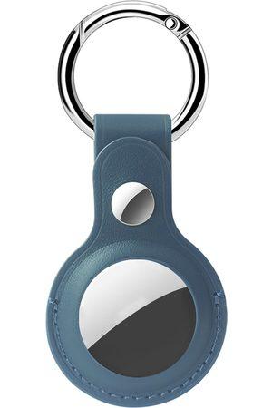 Accezz Genuine Leather Keychain Case voor de Apple AirTag