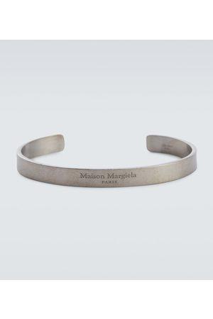 Maison Margiela Heren Armbanden - Logo sterling cuff bracelet