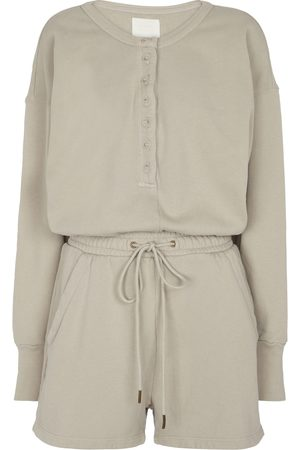Citizens of Humanity Loulou cotton jersey playsuit