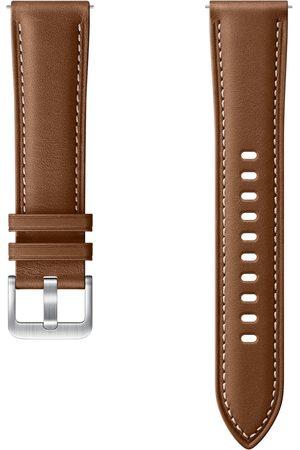 Samsung Leather Band voor de Galaxy Watch Active 2 / Watch 3 41mm