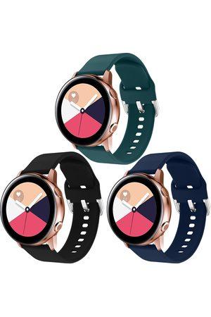 Imoshion Dames Horloges - Siliconen bandje 3-pack Galaxy Watch 40/42mm / Active 2 42/44mm / Watch 3 41mm