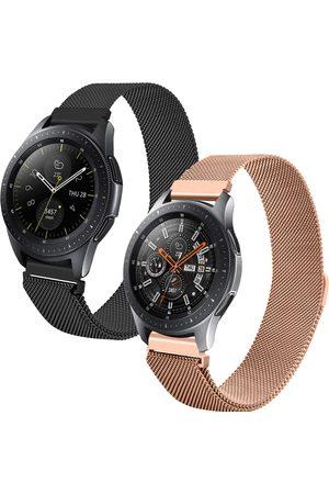 Imoshion Milanees bandje 2-pack Watch 46/Gear S3 Frontier/Classic/Watch 3 45- / Rosé Goud