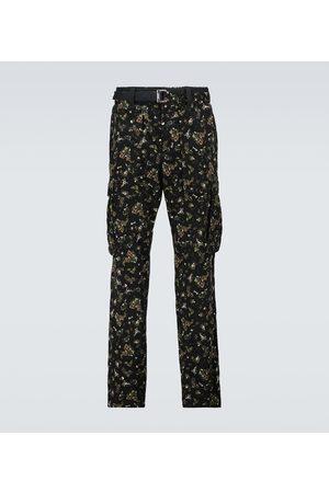 SACAI Heren Cargo's - Printed cargo pants