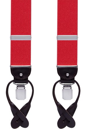 Profuomo BRACES LUXE 36MM SOLID RED PP1L00001C/U