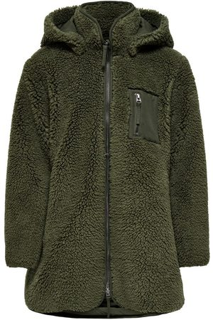 ONLY Sherpa Jas Dames Green