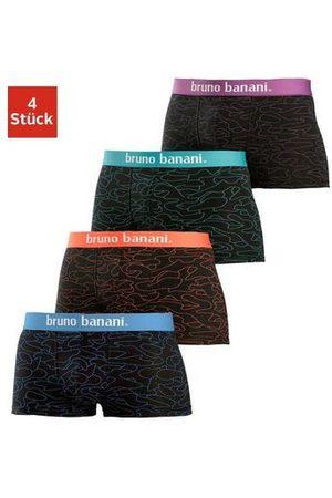 Bruno Banani Boxershort met contrast-weefband (4 stuks)