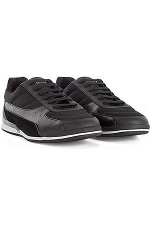 HUGO BOSS Low-top trainers in mixed materials