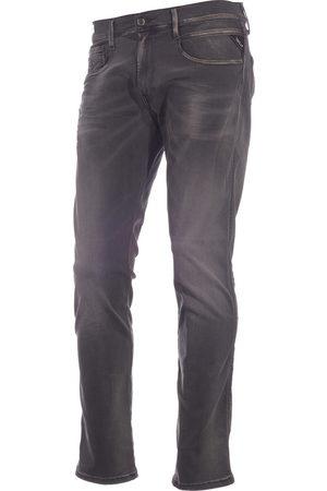 Replay Heren jeans anbass hyperflex m914y