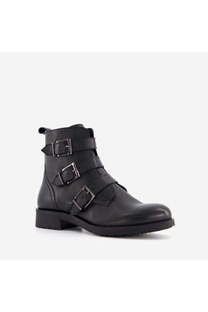 TwoDay Dames Cowboy & Bikerboots - Leren dames biker boots