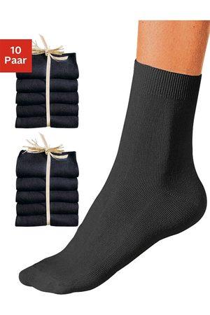 Go In Sokken & Kousen - Basic sokken unikleur (10 paar)