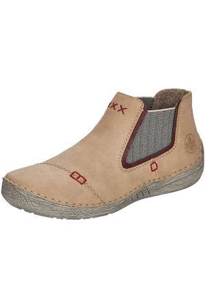 RIEKER Dames Enkellaarzen - Chelsea boots